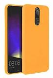 Eiroo Lansman Huawei Mate 10 Lite Sarı Silikon Kılıf
