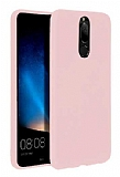 Eiroo Lansman Huawei Mate 10 Lite Sand Pink Silikon Kılıf