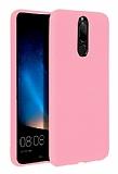 Eiroo Lansman Huawei Mate 10 Lite Pembe Silikon Kılıf