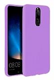 Eiroo Lansman Huawei Mate 10 Lite Lila Silikon Kılıf