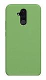 Eiroo Lansman Huawei Mate 20 Lite Yeşil Silikon Kılıf