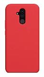 Eiroo Lansman Huawei Mate 20 Lite Kırmızı Silikon Kılıf