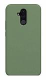 Eiroo Lansman Huawei Mate 20 Lite Koyu Yeşil Silikon Kılıf
