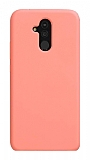 Eiroo Lansman Huawei Mate 20 Lite Pembe Silikon Kılıf