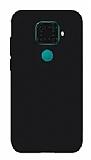 Eiroo Lansman Huawei Mate 30 Lite Siyah Silikon Kılıf