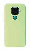Eiroo Lansman Huawei Mate 30 Lite Yeşil Silikon Kılıf