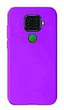 Eiroo Lansman Huawei Mate 30 Lite Mor Silikon Kılıf