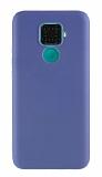 Eiroo Lansman Huawei Mate 30 Lite Lacivert Silikon Kılıf