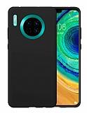Eiroo Lansman Huawei Mate 30 Siyah Silikon Kılıf