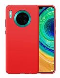 Eiroo Lansman Huawei Mate 30 Kırmızı Silikon Kılıf