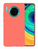 Eiroo Lansman Huawei Mate 30 Turuncu Silikon Kılıf