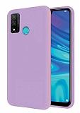 Eiroo Lansman Huawei P Smart 2020 Lila Silikon Kılıf
