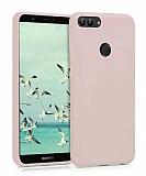 Eiroo Lansman Huawei P Smart Sand Pink Silikon Kılıf