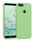 Eiroo Lansman Huawei P Smart Açık Yeşil Silikon Kılıf