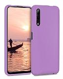 Eiroo Lansman Huawei P Smart Pro 2019 Lila Silikon Kılıf
