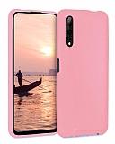 Eiroo Lansman Huawei P Smart Pro 2019 Pembe Silikon Kılıf