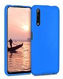 Eiroo Lansman Huawei P Smart Pro 2019 Mavi Silikon Kılıf