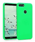 Eiroo Lansman Huawei P Smart Yeşil Silikon Kılıf