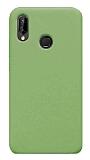 Eiroo Lansman Huawei P20 Lite Yeşil Silikon Kılıf