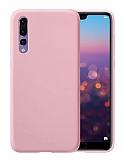 Eiroo Lansman Huawei P20 Pro Pembe Silikon Kılıf