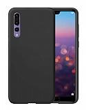 Eiroo Lansman Huawei P20 Pro Siyah Silikon Kılıf