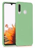 Eiroo Lansman Huawei P30 Lite Açık Yeşil Silikon Kılıf
