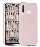 Eiroo Lansman Huawei P30 Lite Sand Pink Silikon Kılıf