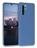 Eiroo Lansman Huawei P30 Pro Lacivert Silikon Kılıf