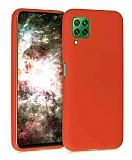 Eiroo Lansman Huawei P40 Lite Kırmızı Silikon Kılıf