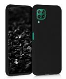 Eiroo Lansman Huawei P40 Lite Siyah Silikon Kılıf