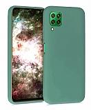 Eiroo Lansman Huawei P40 Lite Yeşil Silikon Kılıf