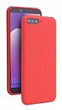 Eiroo Lansman Huawei Y6 2018 Kırmızı Silikon Kılıf
