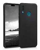 Eiroo Lansman Huawei Y6 2019 Siyah Silikon Kılıf