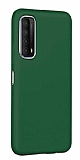 Eiroo Lansman Huawei P smart 2021 Yeşil Silikon Kılıf