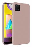 Eiroo Lansman Samsung Galaxy Note 10 Lite Sand Pink Silikon Kılıf