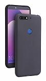 Eiroo Lansman Huawei Y7 2018 Siyah Silikon Kılıf