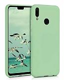 Eiroo Lansman Huawei Y7 2019 Yeşil Silikon Kılıf