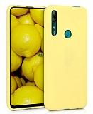 Eiroo Lansman Huawei Y9 Prime 2019 / P Smart Z Sarı Silikon Kılıf