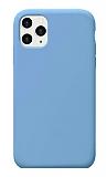 Eiroo Lansman iPhone 11 Pro Max Mavi Silikon Kılıf