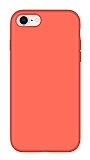 Eiroo Lansman iPhone 6 Plus / 6S Plus Turuncu Silikon Kılıf