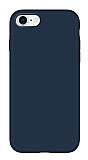 Eiroo Lansman iPhone 6 Plus / 6S Plus Lacivert Silikon Kılıf