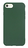 Eiroo Lansman iPhone 7 / 8 Koyu Yeşil Silikon Kılıf