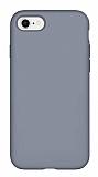 Eiroo Lansman iPhone 7 / 8 Gri Silikon Kılıf