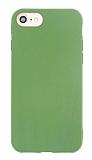 Eiroo Lansman iPhone 7 / 8 Yeşil Silikon Kılıf