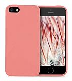 Eiroo Lansman iPhone SE / 5 / 5S Somon Silikon Kılıf