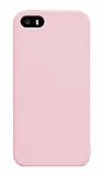 Eiroo Lansman iPhone SE / 5 / 5S Pink Sand Silikon Kılıf