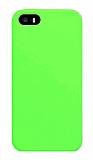Eiroo Lansman iPhone SE / 5 / 5S Yeşil Silikon Kılıf
