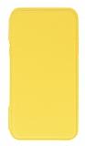 Eiroo Lansman iPhone XR Silikon Kapaklı Sarı Kılıf