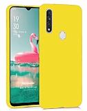 Eiroo Lansman Oppo A31 Sarı Silikon Kılıf