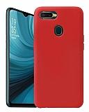 Eiroo Lansman Oppo A5s Kırmızı Silikon Kılıf
